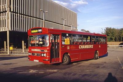 Chambers Bures A211JDX Colchester Bus Stn Sep 94