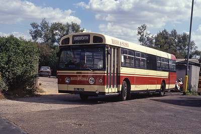 Hants and Sussex AML567H Sultan Rd Depot Emsworth Sep 90