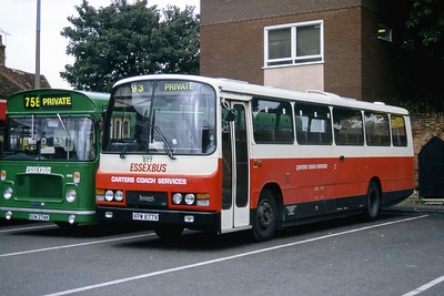 Carter Colchester XPW877X Colchester Bus Station Sep 94