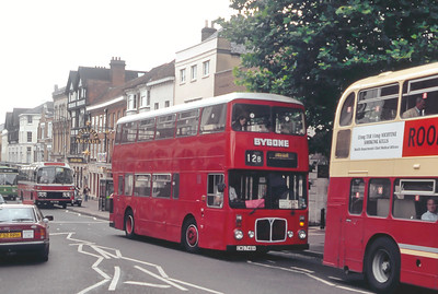 Bygone Buses Biddenden CWG746V High St Maidstone Aug 93