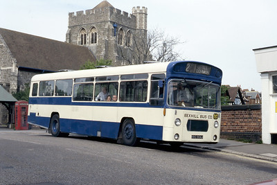 Bexhill Bus Company HHC904J Sea Road Bexhill May 87