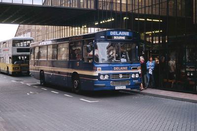 Delaine Bourne C426MFE Peterborough Bus Station Sep 94