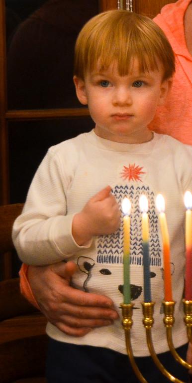 Hanukkah 2014 & Britt's 41st Birthday