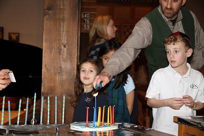 Hanukkah Chapel 2014