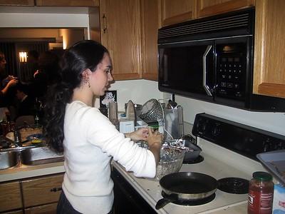 Guest latke chef Rachel Miller