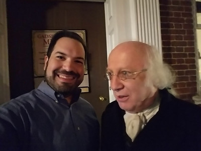 John Douglas Hall as James Madison (r)