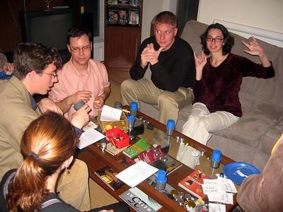 Guests play No Limit Texas Dreidel