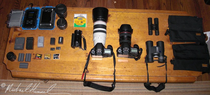 Safari Camera Equipment