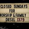 Closed Sundays