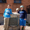 Alexander, Galen & Liam in front of the old Cripple Creek jail.