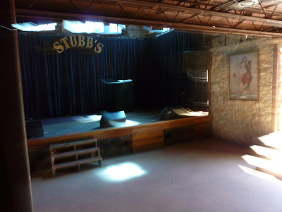 The downstairs stage at the Legendary Stubb's BBQ