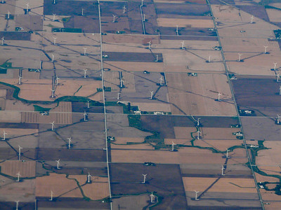 cool Wind Farm south of Chicago