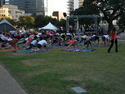 An outdoor YogaFest...