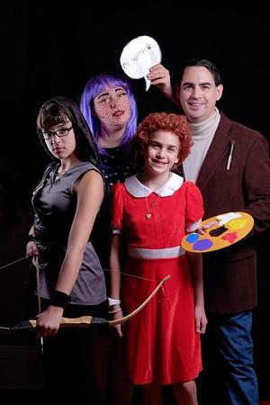 Family halloween.