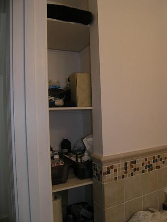 bathroom storage!