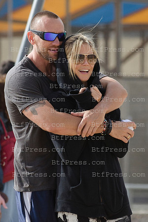 Happiness for Heidi Klum and Martin Kristen