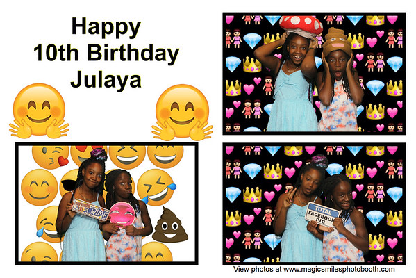 Happy 10th birthday Julaya
