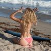 Happy 4th of July! Nikon D800E Photos Blond Bikini Model Goddess in American Flag Swimsuit!