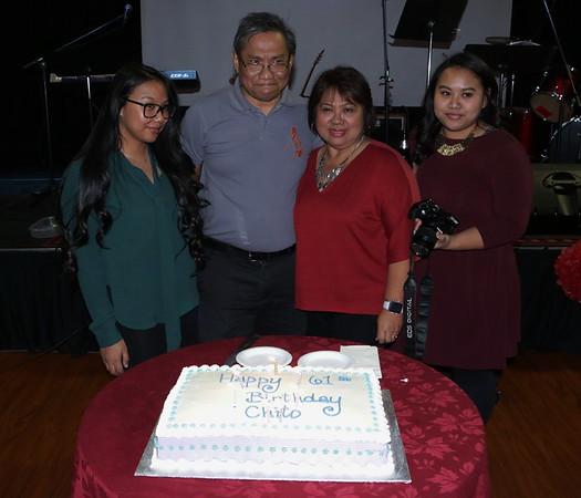 Happy  61st Birthday Chito !