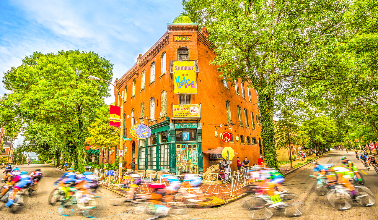 St. Louis, Missouri - - Happy Bike Month, May 2017!