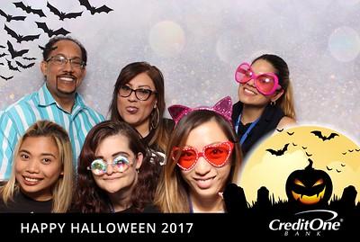 Happy Halloween 2017 Credit One Bank (2of2)