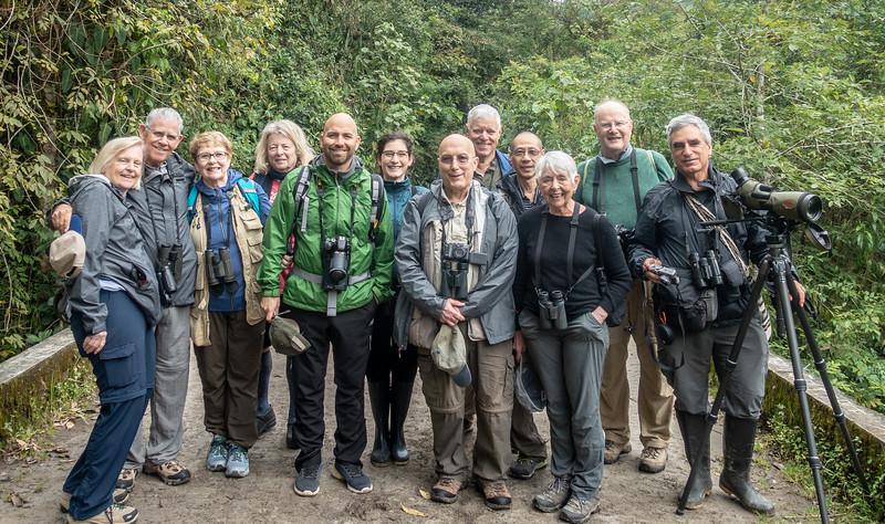 Happy Warblers: Pam, Jim, Barbara, Sharon, Frank, Laura, Syd, Joe, Chee, Eleanor, Gerry, Daniel