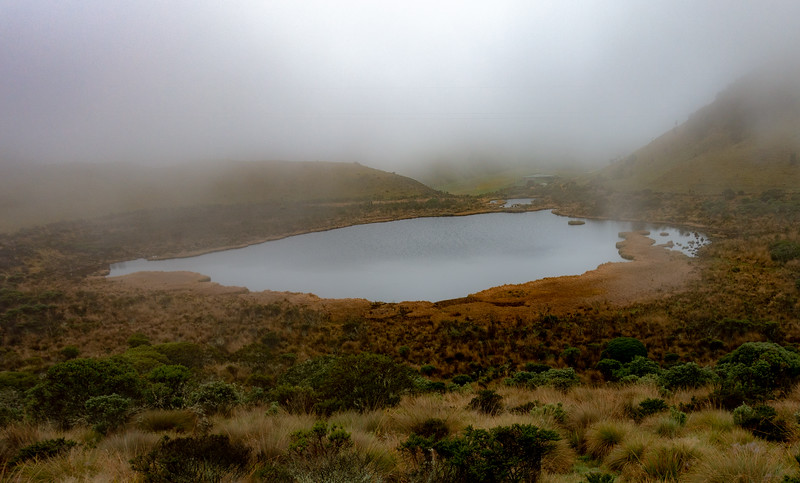 Pond on way to Los Nevados