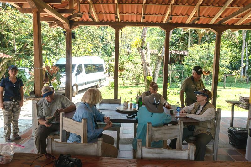 Coffee Break at Tinamu Lodge