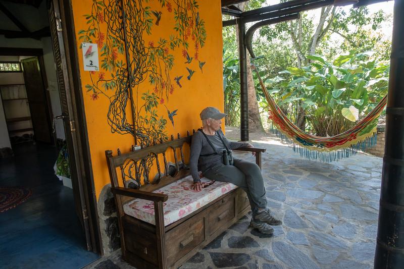 Relaxing at Tinamu Lodge
