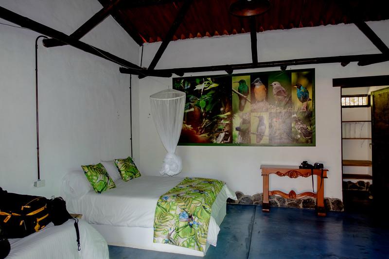 Room at Tinamu Lodge