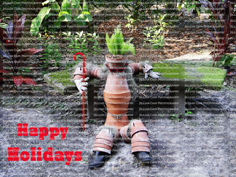 Happy Holidays says Pot Man