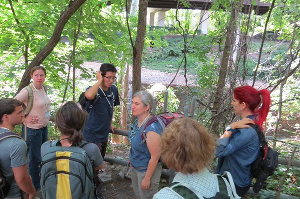 Ecological Society of America 2015 field trip at Gwynns Run
