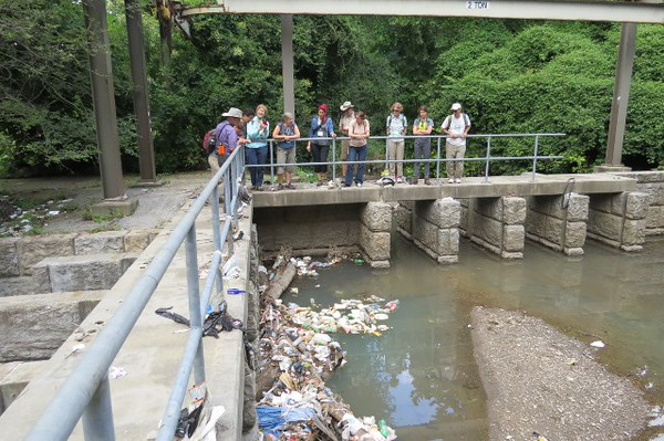 Gwynns Falls Field Trip - Ecological Society of America 100th annual meeting.