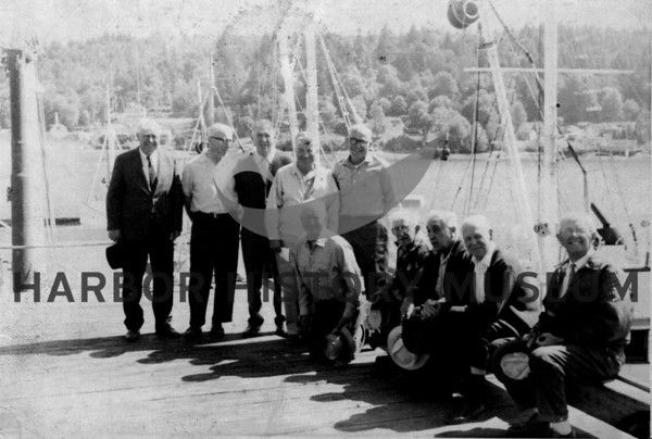 "Crew of the ""Veteran""  1970"