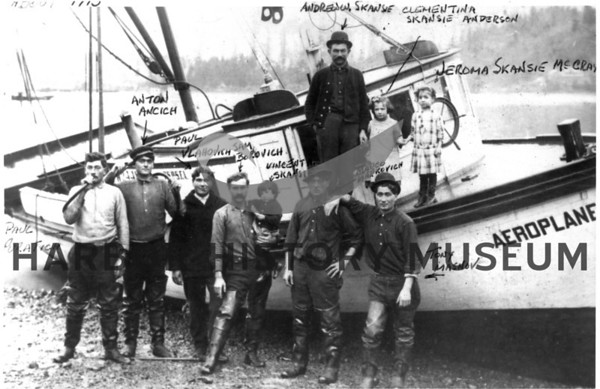 "Crew of the ""Aeroplane"""