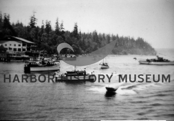 Opening Festivities of the First Narrows Bridge at Pt. Defiance