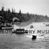 Celebration of last ferry run at the opening of 1st Narrows Bridge  1940