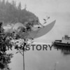 Ferry Skansonia leaving Gig Harbor
