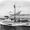 """Sea Rose"" built by Ragulin & Cole, Tacoma in 1949 for Pete Skarponi.<br /> Powered 500 HP Jimmy; length 72'<br /> Hit a submerged object and sank 3 1/2 miles east of Sister Island, Georgia Strait, WA 6/2/56."