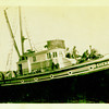 "Purse seiner, ""Shenandoah"" built in 1925 at Skansie Shipyard."