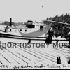 Working on fishing boats in Gig Harbor - being painted - 8/1/941