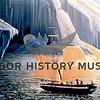Postcard of Sailing Ship in Alaska
