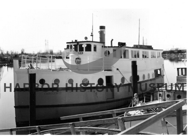 "James & Goodell Shipbulting.  The ""Burro"" remodeled to become the ""Carolyn M""."