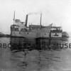 """Steamer """"Tyconda"""" launched in 1898."""