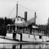 "Steamer ""Tyconda"" anchored at Henderson Bay."
