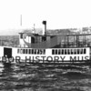 "Steamer ""Ariel"" during service on Lake Washington in 1941."