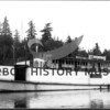 "Steamboat ""Arcadia"" built by Mojean-Erickson in 1928 costing $28,000.  <br /> co-owners Bert Berntson and Ed Lorenz.<br /> Sold in 194 to McNeil Island Penitentiary for $8,000 and renamed ""JE Overlade"" and converted to diesel engines. <br /> Now known as ""Virginia VI"", an excursion boat out of Seattle."