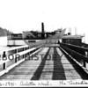 "Steamboat ""Arcadia"" at Arletta dock."