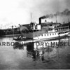 Photographer:  Bashford<br /> Atalanta built 1913; 100 ft., last good steamer on Gig Harbor/Tacoma route; owned by Hunt Brothers.