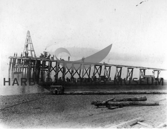 Construction of Arletta Dock